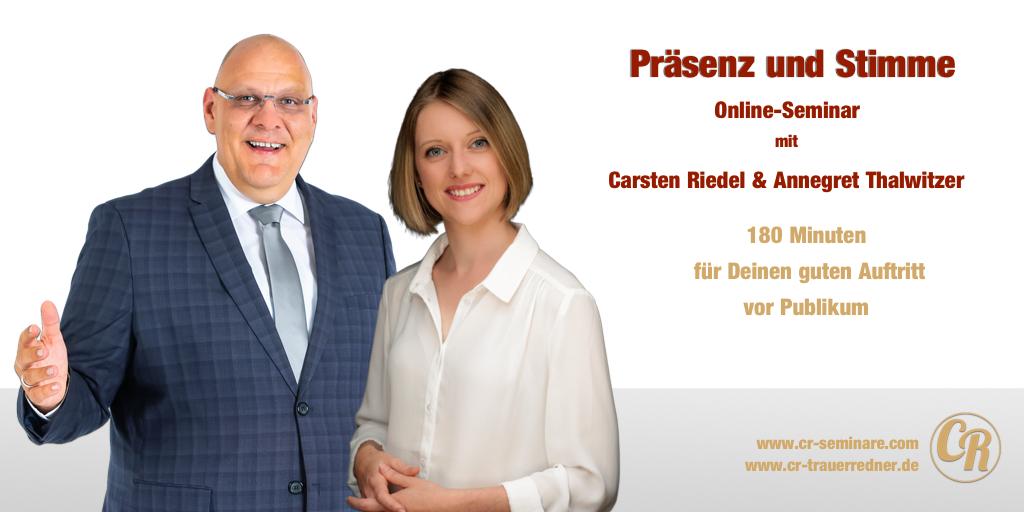 Onlineseminar Präsenz Und Stimme