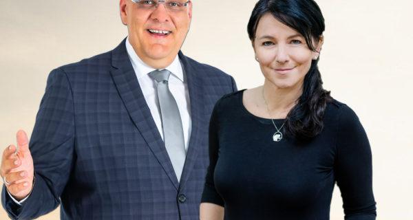 Ines Wirth Trauerrednerin Für Leipzig Mit Carsten Riedel, CR Trauerredner