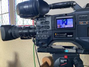Livestream von der Trauerfeier, Kamera