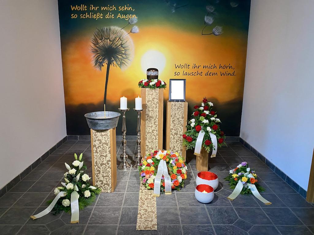 Trauerfeier Hauptfriedhof Zwickau